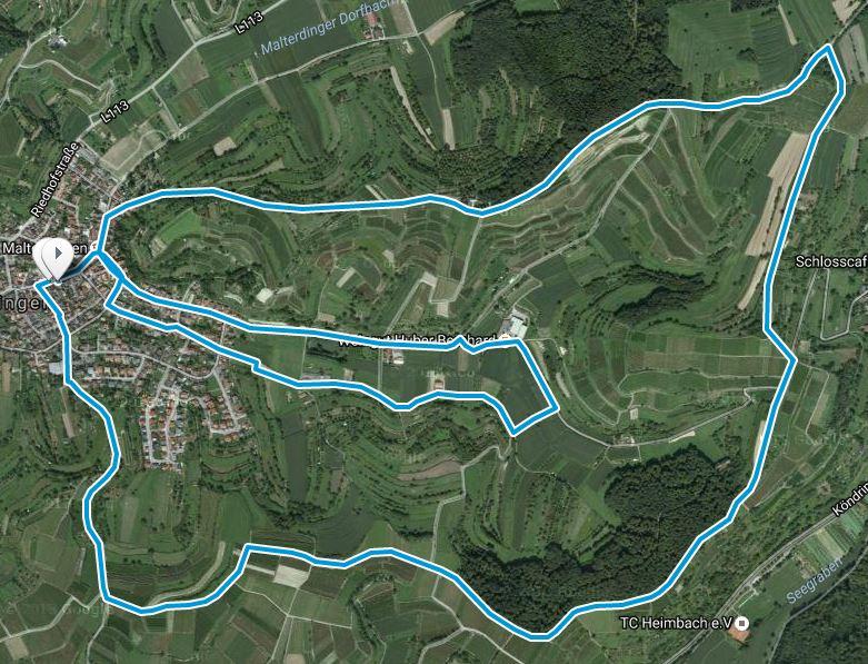 Breisgau_Laufstrecke